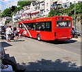 SX2553 : Plymouth Citybus in Looe by Jaggery