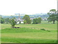 NT7034 : Floors Castle Park, view to River Tweed and Kelso by David Hawgood