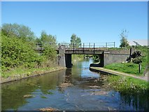 SK0305 : Slough Railway Bridge, from the west by Christine Johnstone