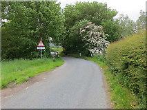 SE2545 : Castley Lane crossing Riffa Beck by Peter Wood