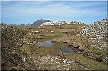 NG9863 : Unnamed lochan beside the Mountain Trail by Julian Paren