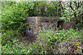 SJ3949 : WWII Royal Ordnance Factory, Wrexham - pillbox (1) by Mike Searle