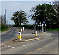 SO8006 : Pedestrian refuge, Gloucester Road, Standish by Jaggery