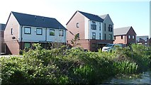 SK0101 : Canalside homes on Oystercatcher Grove, Harden by Christine Johnstone