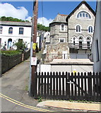 SX2553 : West Looe Chapel electricity substation by Jaggery