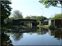 SJ9400 : Wards Bridge, from the north by Christine Johnstone