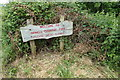 TM1840 : Welcome to Orwell Country Park sign by Adrian Cable
