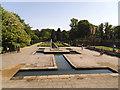 SE1535 : Water garden in Lister Park  by Stephen Craven