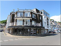 SX2553 : Tasty Corner - the Cafe on the Quay, West Looe by Jaggery