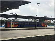 SK3635 : Single-car DMU at Derby station by Jonathan Hutchins