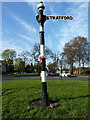 SP0881 : Old guidepost by Richard Law
