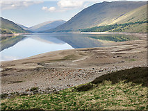 NN3268 : Looking down Loch Treig by wrobison