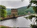SK1789 : The Derwent Reservoir Dam by David Dixon