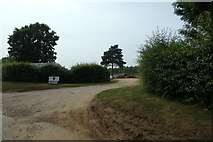 TM3875 : Entrance to East View (Waterworks Cottages) by Adrian Cable