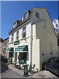 SX2553 : Loowena Cafe, Higher Market Street, East Looe by Jaggery