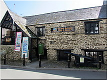 SX2553 : Old Guildhall Gaol & Museum, Higher Market Street, East Looe by Jaggery