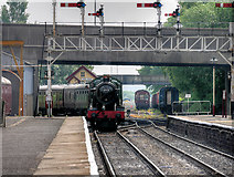 SD8010 : Witherslack Hall on the East Lancashire Railway by David Dixon