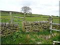 SE0226 : Stile and gate on Hebden Royd FP35, Mytholmroyd by Humphrey Bolton