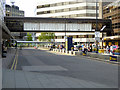 SJ8284 : Manchester Airport, Terminal 3 Drop-off Zone (Domestic Approach) by David Dixon
