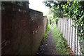 SO9621 : Footpath in the Battledown Estate by Bill Boaden