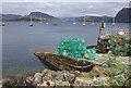 NG8033 : Lobster pots, Plockton by Ian Taylor