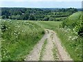 SK5326 : View from the Midshires Way on Fox Hill by Alan Murray-Rust