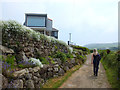 SW4538 : Path to Zennor Village by Gary Rogers