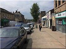 SK0394 : Glossop High Street by David Lally