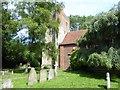 TQ1078 : St Dunstan's Church, Cranford by Marathon