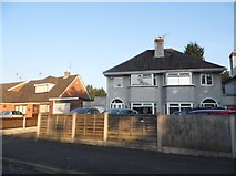 SJ9102 : Houses on Church Road, Oxley by David Howard