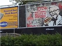 SJ9102 : Advertising on Three Tuns Lane by David Howard