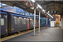 SX9473 : Platform 1, Teignmouth Station by N Chadwick