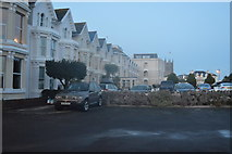 SX9472 : Seafront properties by N Chadwick