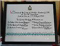 TM5491 : Aircrew memorial in Kirkley St Peter's & St John's church by Adrian S Pye