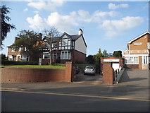 SO8985 : Houses on High Street, Amblecote by David Howard