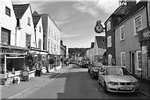 ST7593 : High Street/Long Street, Wotton Under Edge, Gloucestershire 2015 by Ray Bird