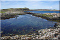 NG3136 : Rock pool, Oronsay by Ian Taylor