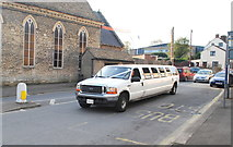 ST7593 : Stretched Limo, Wotton Under Edge, Gloucestershire 2014 by Ray Bird