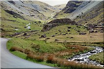 NY2114 : Honister Pass by Peter Jeffery