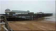 TQ8109 : Hastings Pier by Richard Cooke