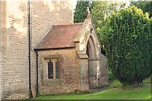 SO4970 : All Saints Church (Porch | Richards Castle) by Fabian Musto