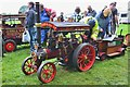 NT5348 : Traction engine 'Wally', Thirlstane Castle by Jim Barton