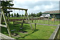 TL9990 : Children's  Play Area  at Hall Farm Horse Rescue Centre by Adrian Cable