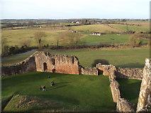 SP2772 : View from Kenilworth Castle by Niki Walton