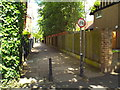 TQ1681 : Footpath in Ealing by Malc McDonald