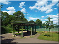 TQ1682 : Shelter in Pitshanger Park, near Ealing by Malc McDonald