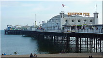 TQ3103 : Brighton Palace Pier by Richard Cooke