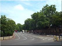 TQ2879 : Traffic gyratory at Hyde Park Corner by Malc McDonald
