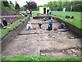 SJ4166 : Archaeological Dig in Grosvenor Park, Chester by Jeff Buck