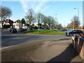 SP0881 : Roundabout on Wheeler's Lane by Richard Law